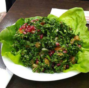 Salata tabouleh cu rodie