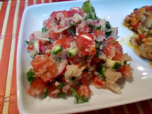 Salata Tabouleh cu conopida