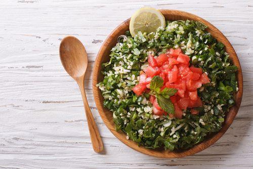 Salata tabouleh fara bulgur