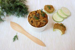 Pateu de ciuperci si seminte de dovleac
