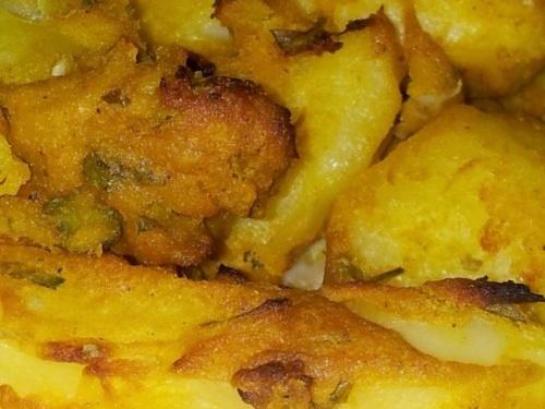Cartofi in crusta de mustar
