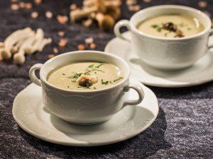 Supa crema de ciuperci dukan