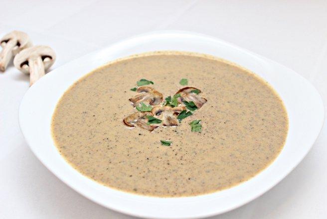 Supa crema de ciuperci (Reteta Dukan)