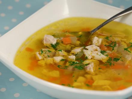 Supa din piept de pui cu orez